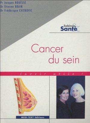 Cancer du sein - medi-text - 9782915400021 -