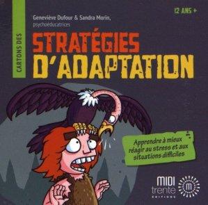 Cartons des Stratégies d'adaptation - midi trente - 9782923827810 -