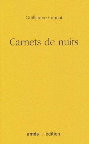 Carnets de nuit - amds  - 9782951336551