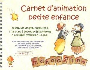Carnet d'animation petite enfance - Mandarine - 9782953057119 -