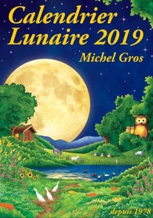 Calendrier lunaire 2019 - calendrier lunaire diffusion - 9782955935903