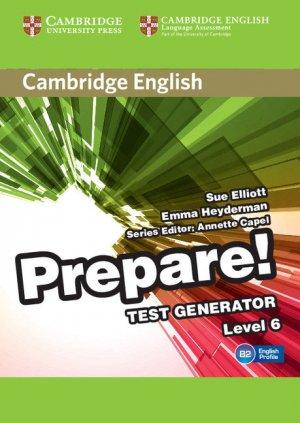 Cambridge English Prepare! Test Generator Level 6 - CD-ROM - cambridge - 9788490366127