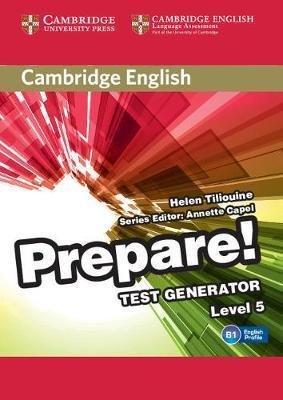 Cambridge English Prepare! Test Generator Level 5 - CD-ROM - cambridge - 9788490369227 -