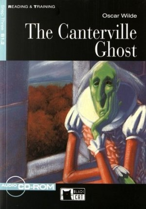 CANTERVILLE GHOST  - black cat - cideb - 9788853006592 -