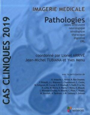 Cas cliniques 2019 Imagerie médicale - sauramps medical - 9791030301939 -