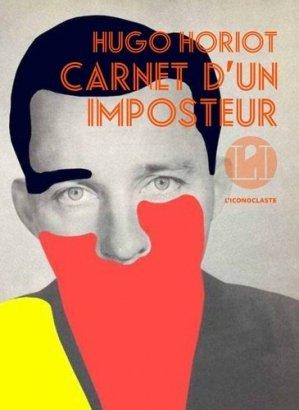 Carnet d'un imposteur - iconoclaste - 9791095438182 -