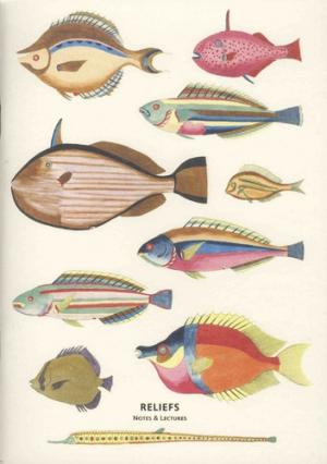 Carnet Curiosités des mers - reliefs - 9791096554126 -