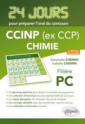 CCINP ( ex CCP)Chimie - ellipses - 9782340024106 -