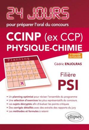 CCINP Physique-Chimie - ellipses - 9782340024311 -