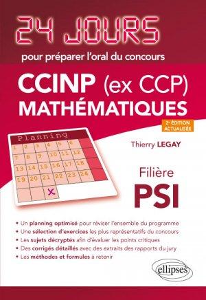 CCINP (ex CCP) Mathématiques  filière PSI - ellipses - 9782340029200 -