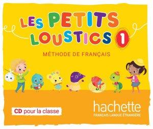 CD PETITS LOUSTICS 1 METHODE FRANCAIS - hachette - 3095561992144 -