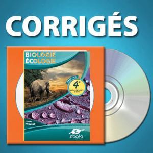 CDRom de corrigés 4eme Agricole Biologie - Écologie - doceo - 9782354972172 -