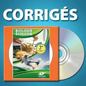 CDRom de corrigés 3eme Agricole Biologie - Écologie - doceo - 9782354972196 -