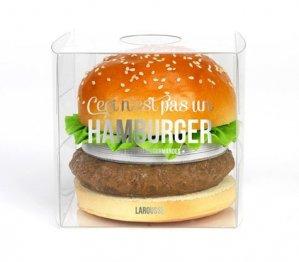 Ceci n'est pas un hamburger - Larousse - 9782035914675 -
