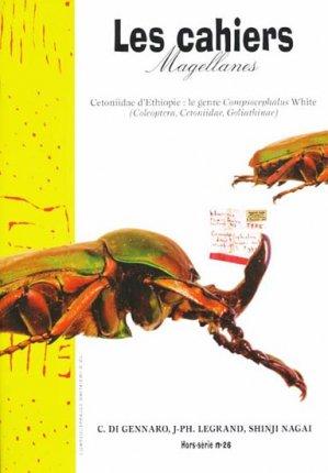 Cetoniidae d'Éthiopie le genre Compsocephalus White - magellanes - 9782353870219 -