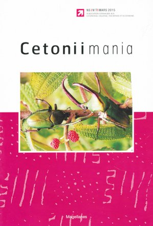 Cetoniimania - magellanes - 9782353871155 -