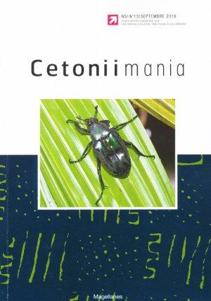 Cetoniimania 13 - magellanes - 9782353871407 -