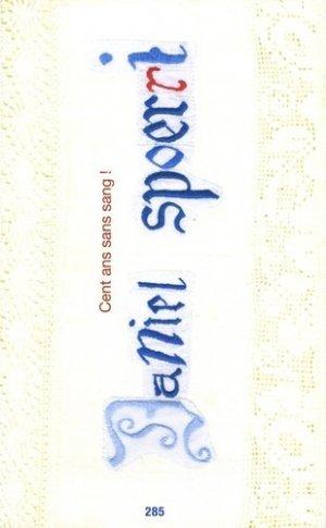 Cent ans sans sang ! - Editions Jannink - 9782372290289 -