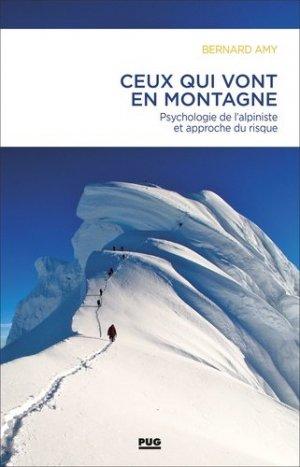 Ceux qui vont en montagne - Presses Universitaires de Grenoble - 9782706146459 -