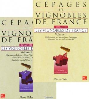 Cépages et vignobles de France Tome 3  Volumes 1 et 2 - pierre galet - 9782743008383