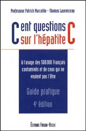 Cent questions sur l'hépatite C - frison roche - 9782876714182 -