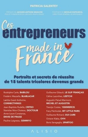 Ces entrepreneurs made in France - Alisio - 9791092928716 -
