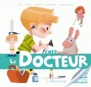 Chez le docteur - larousse - 9782035886385 -