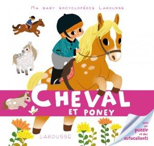 Cheval et poney - larousse - 9782035890009 -