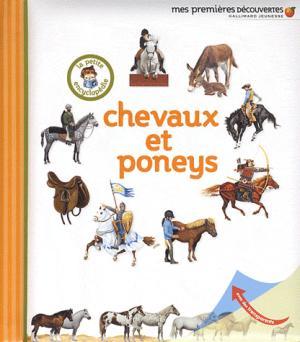 Chevaux et poneys - gallimard jeunesse - 9782070644049 -