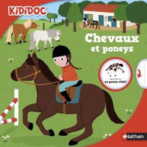 Chevaux et poneys - nathan - 9782092549360 -