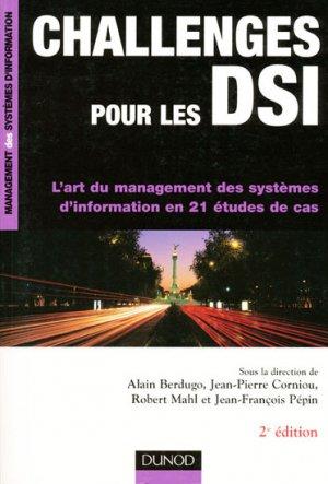 Challenges pour les DSI - dunod - 9782100490196 -