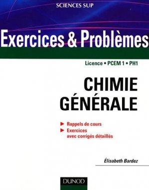 Chimie générale - dunod - 9782100520206 -