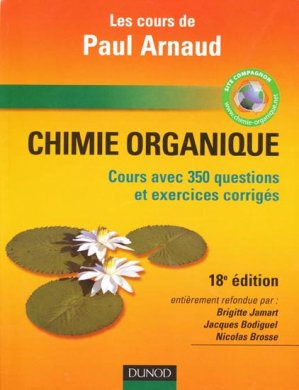 Chimie organique - dunod - 9782100526475 -