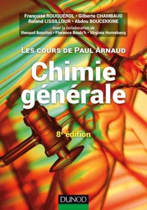 Chimie générale - dunod - 9782100743674