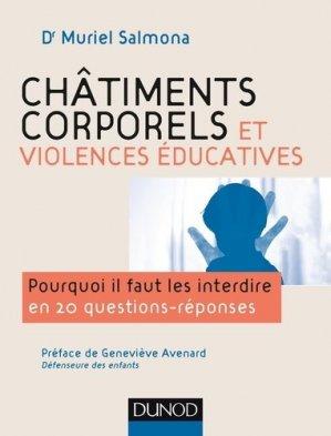 Châtiments corporels et violence éducative - dunod - 9782100755028 -