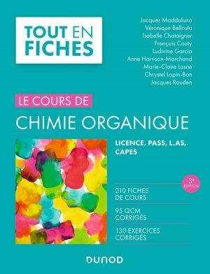 Chimie organique - 3e éd - dunod - 9782100789337 -