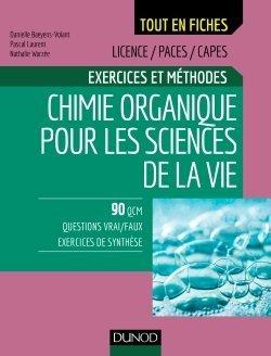Chimie organique pour les sciences de la vie - dunod - 9782100789375 -