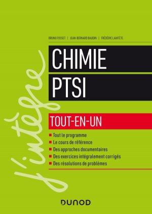 Chimie tout-en-un PTSI - dunod - 9782100796137 -