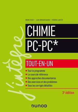Chimie tout-en-un PC-PC* - dunod - 9782100797134