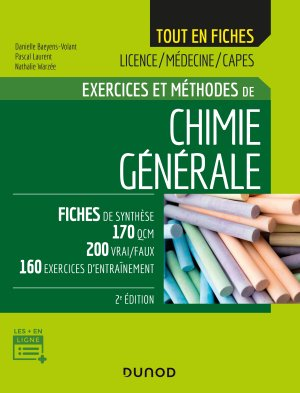Chimie générale - dunod - 9782100800551 -