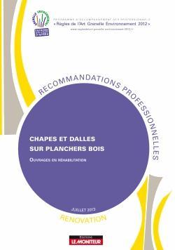 Chapes et dalles sur planchers bois - Rénovation - le moniteur - 9782281150117 -