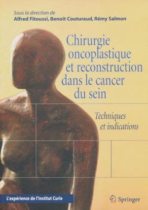 Chirurgie oncoplastique et reconstruction dans le cancer du sein - springer verlag - 9782287714757 -