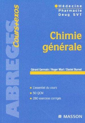 Chimie générale - elsevier / masson - 9782294000058