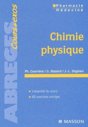 Chimie physique - elsevier / masson - 9782294008368 -