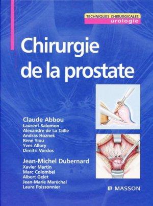Chirurgie de la prostate - elsevier / masson - 9782294018084 -
