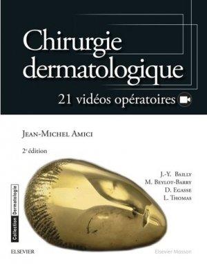 Chirurgie dermatologique-elsevier / masson-9782294749834