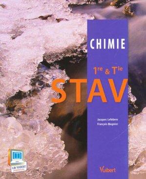 Chimie STAV 1ère et terminale - vuibert - 9782311008715