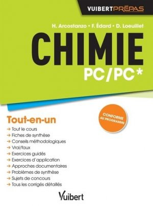Chimie PC/PC* - vuibert - 9782311400328 -