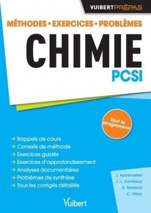 Chimie PCSI - vuibert - 9782311402247 -