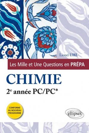 Chimie PC - PC* - ellipses - 9782340000223
